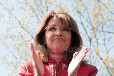 Sarah Palin at the Tea Party Express Rally in Boston, MA on April 14th, 2010