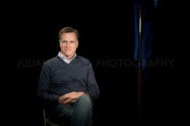 On the campaign trail with Mitt Romney.