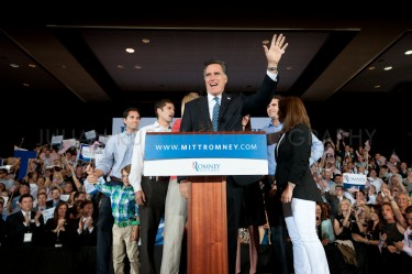 Mitt Romney wins the Florida primary.